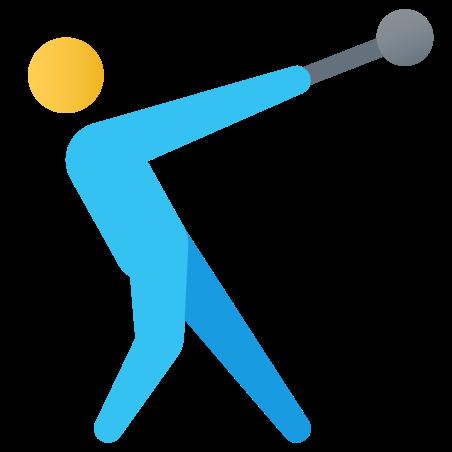 Hammer Throw icon in Fluency