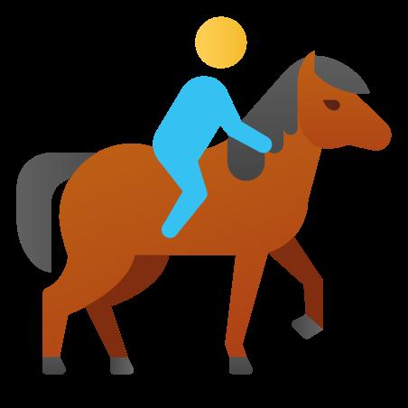 Horseback Riding icon in Fluency