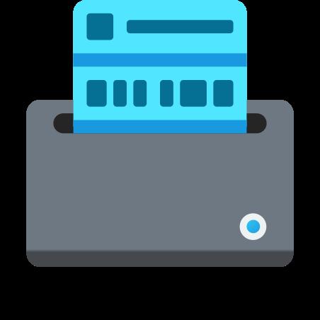 Label Printer icon in Fluency