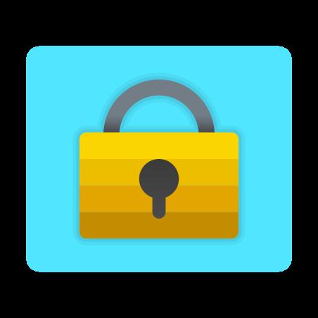 Lock Screen icon in Fluency