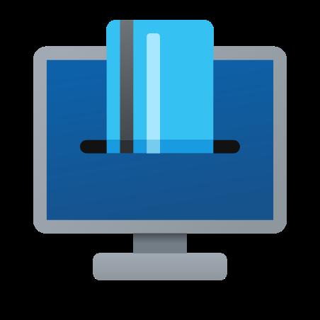 온라인 지불 icon in Fluency