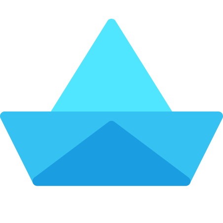 Paper Ship icon in Fluency