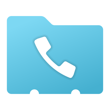 Phone Contact icon in Fluency