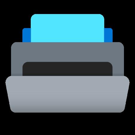Printer icon in Fluency