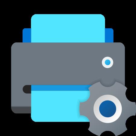 Printer Maintenance icon in Fluency
