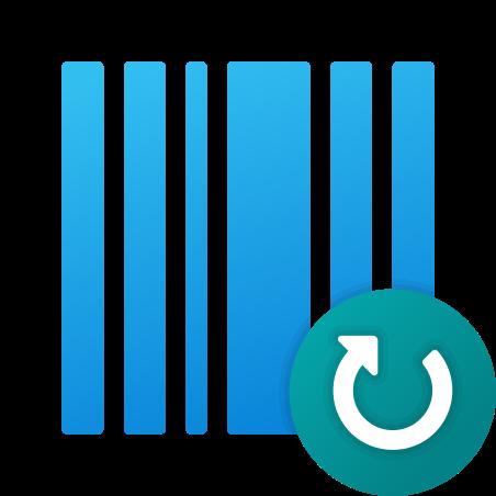 Refresh Barcode icon in Fluency