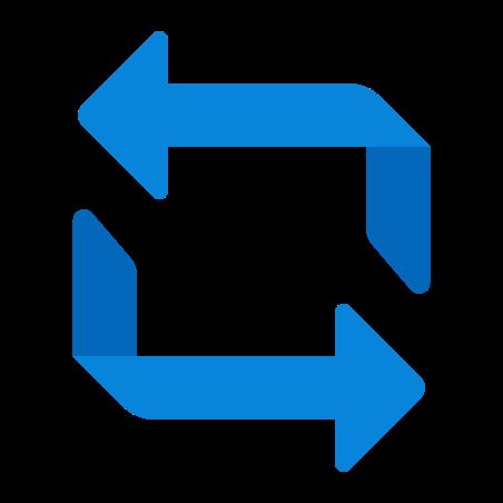 반복 icon in Fluency