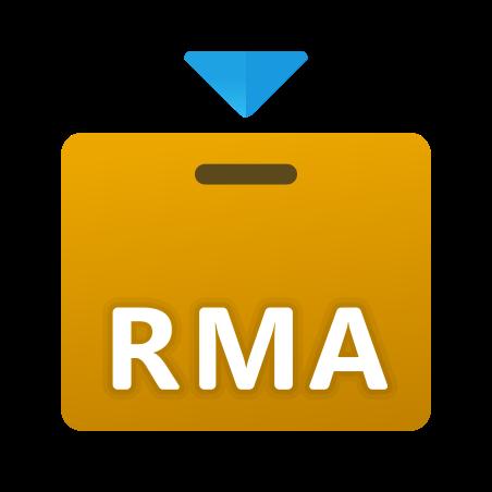 Return Merchandise Authorization icon in Fluency