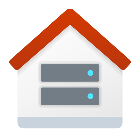 Root Server icon in Fluency