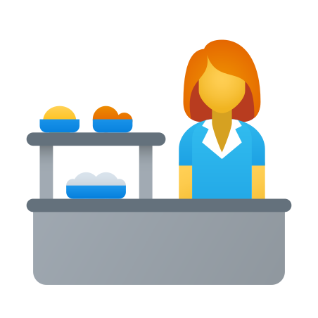 School Cafeteria icon in Fluency