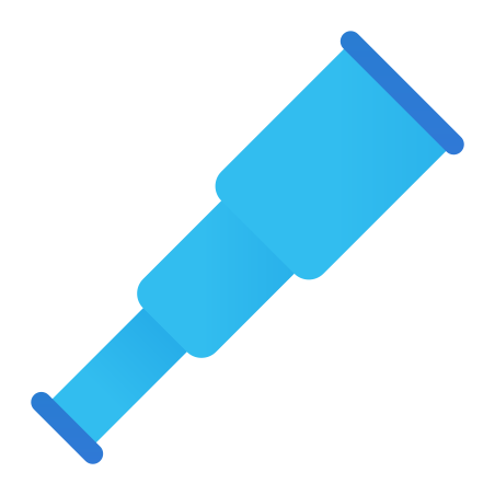Spyglass icon in Fluency