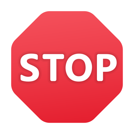 Stop Sign icon in Fluency