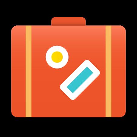슈트 케이스 icon in Fluency