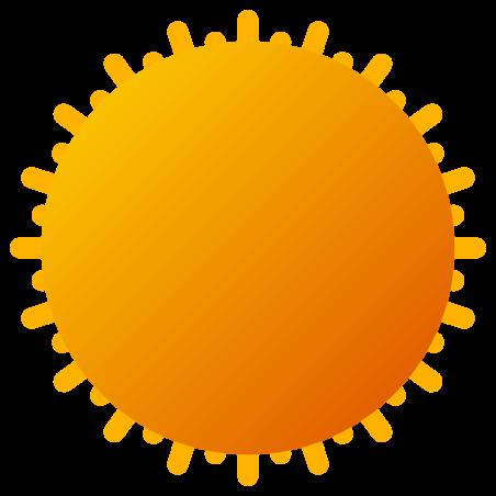 Summer icon in Fluency