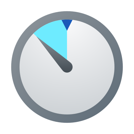 Timer icon in Fluency