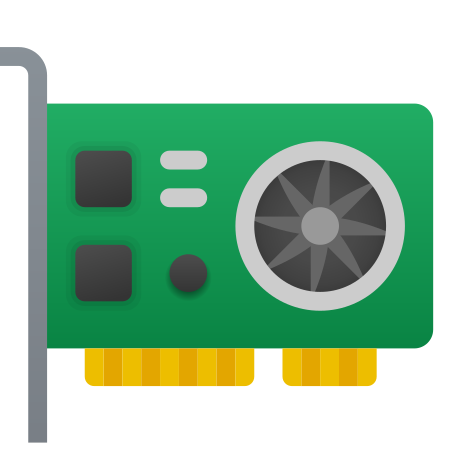 Video Card icon in Fluency