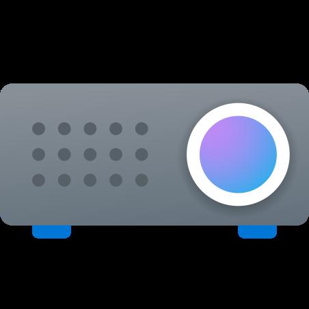 Video Projector icon in Fluency