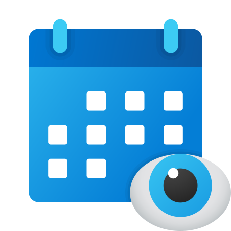View Schedule icon in Fluency