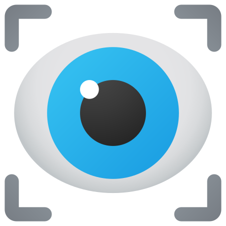 Vision icon in Fluency