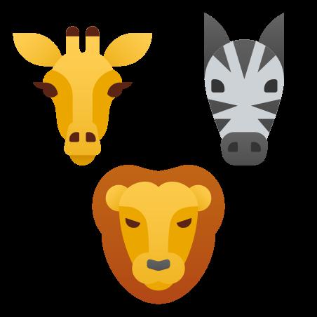 Wildlife Animals icon in Fluency