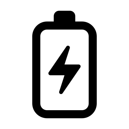 Android L Battery icon