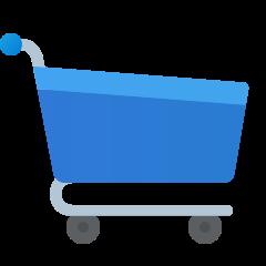 fluent shopping-cart icon