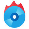 Burn CD icon