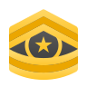 Command Sergeant Major CSM icon