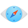 Compass Eye icon