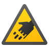 Cutting Hazard icon