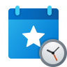 Event Accepted Tentatively icon