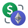 Dollar Ethereum Exchange icon
