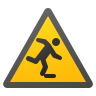 Floor Level Obstacle icon