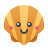 Kawaii Shellfish icon