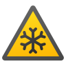 Low Temperature Hazard icon