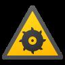 Rotating Blade Hazard icon