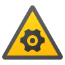 Rotating Parts Hazard icon