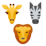 Дикие животные icon