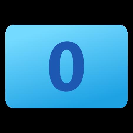0 icon