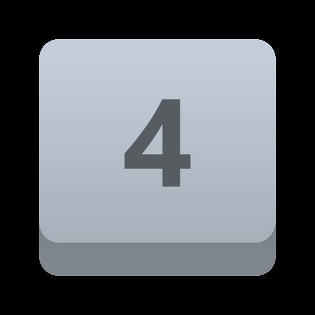 4 Key icon
