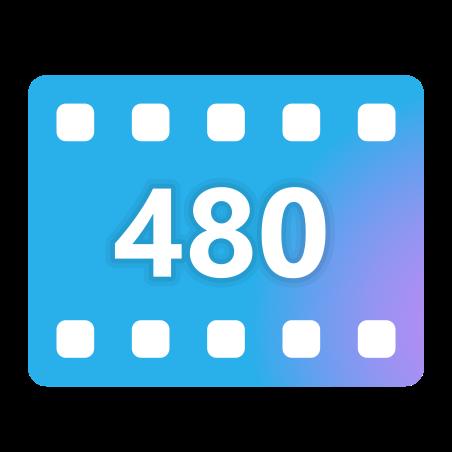 480p icon