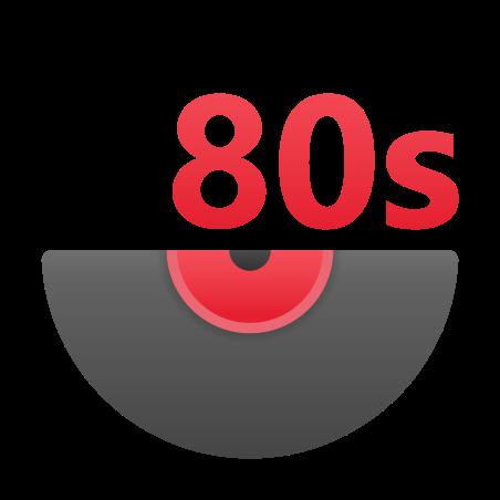 80s Music icon