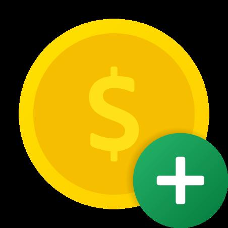 Add Dollar icon