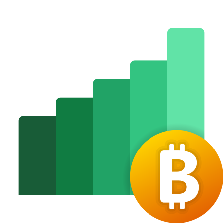 Bitcoin Cryptocurrency icon
