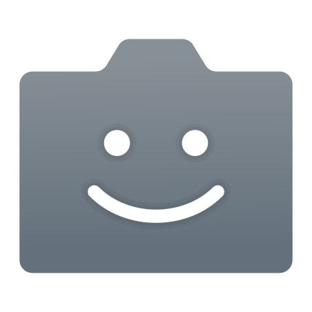 Camera Icon With Face icon