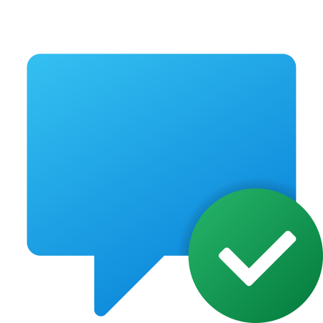Chat Message Sent icon