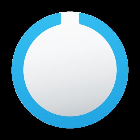 Circled Notch icon