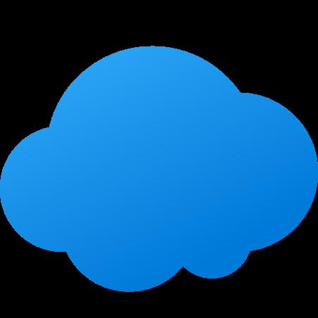 Cloud icon in Fluent