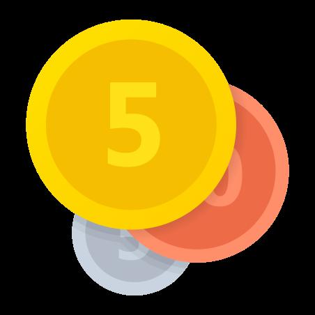 硬币 icon