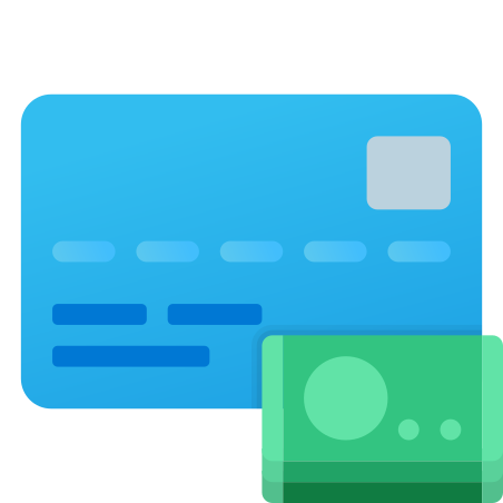 Credit Card Cash Withdrawal icon